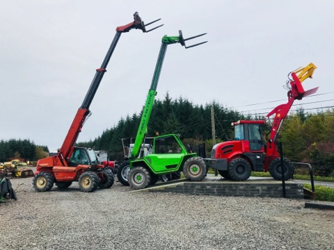 Merlo Telehandler- Farm Handler- Finance Options