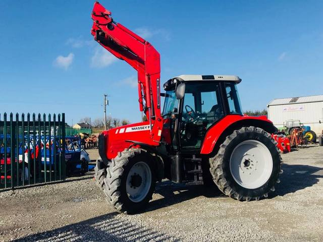 Massey Ferguson 5460 – Full Finance Options – UK Import