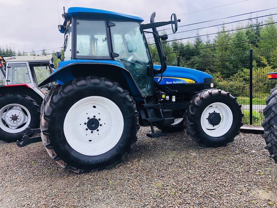 New Holland TM140 – Year 2003- UK Import- Full Finance Options