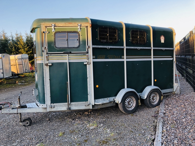 Vans Fautras Horse Box – Full Finance Options