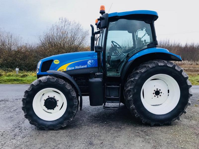 New Holland TS115A – Full Finance Options