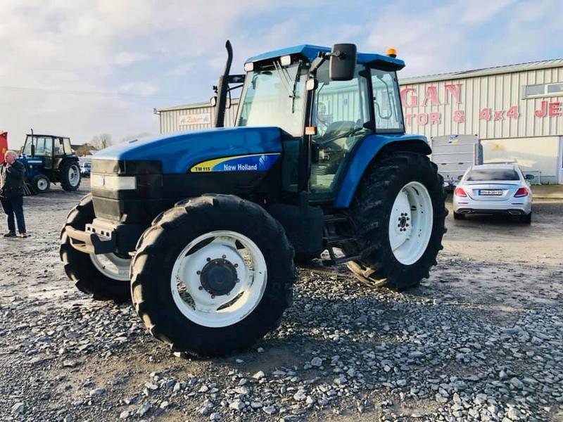 New Holland TM115 - UK Import - Full Finance
