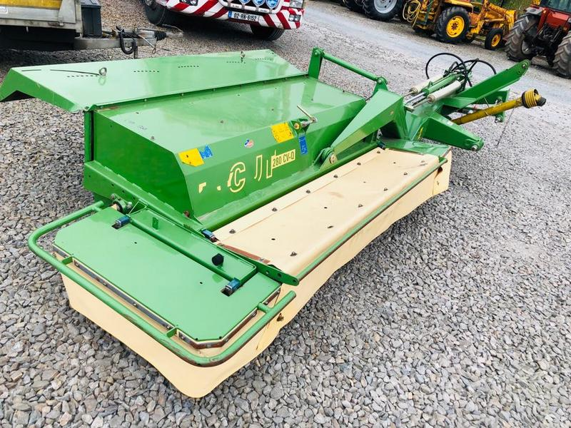 Krone 9FT Mower Conditioner- Full Finance Opts