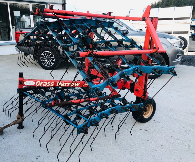 Folding Grass Harrow