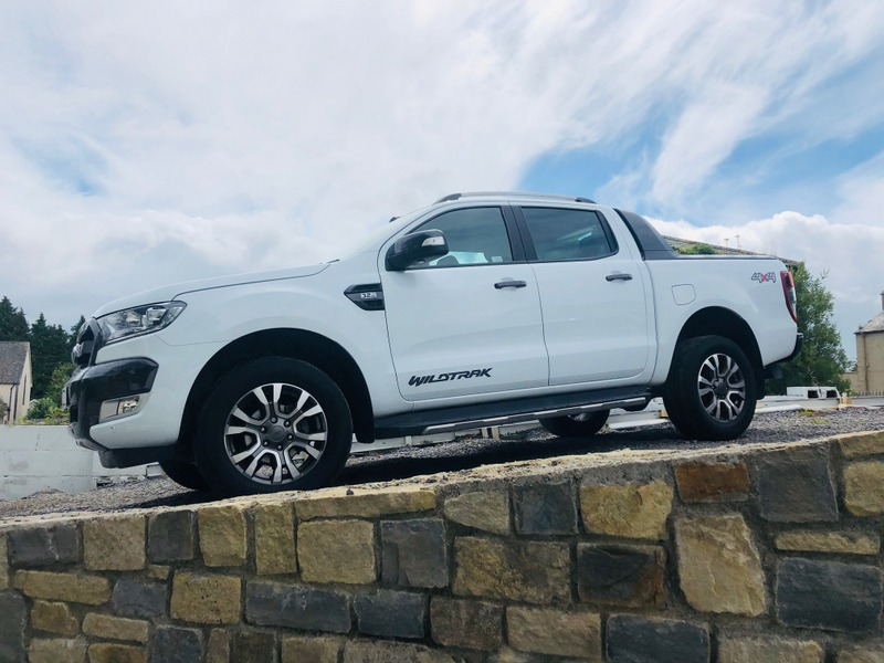 172 Ford Ranger Wildtrack – Frozen White –  Finance Options