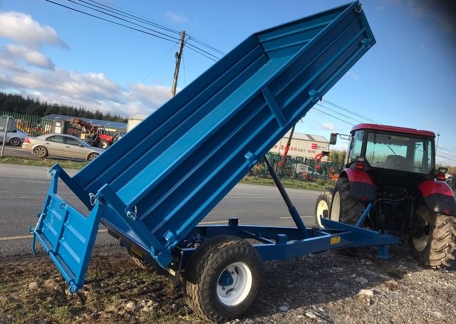 Donnelly Tipping Trailers – Twin Axle- Single Axle- Finance Options