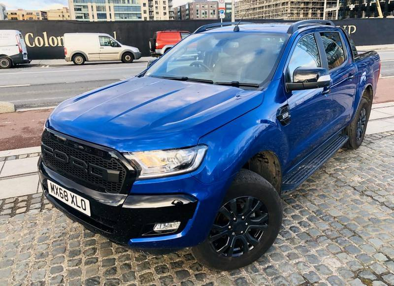 2018 Ford Ranger Wildtrack  X – Limited Edition – Choice x3
